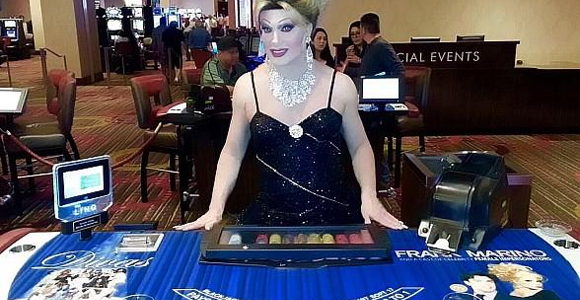Frank Marino blackjack tables