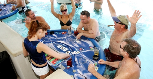 Poolside Blackjack